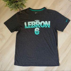 Nike Lebron James 6 Dri-fit T-shirt Size M